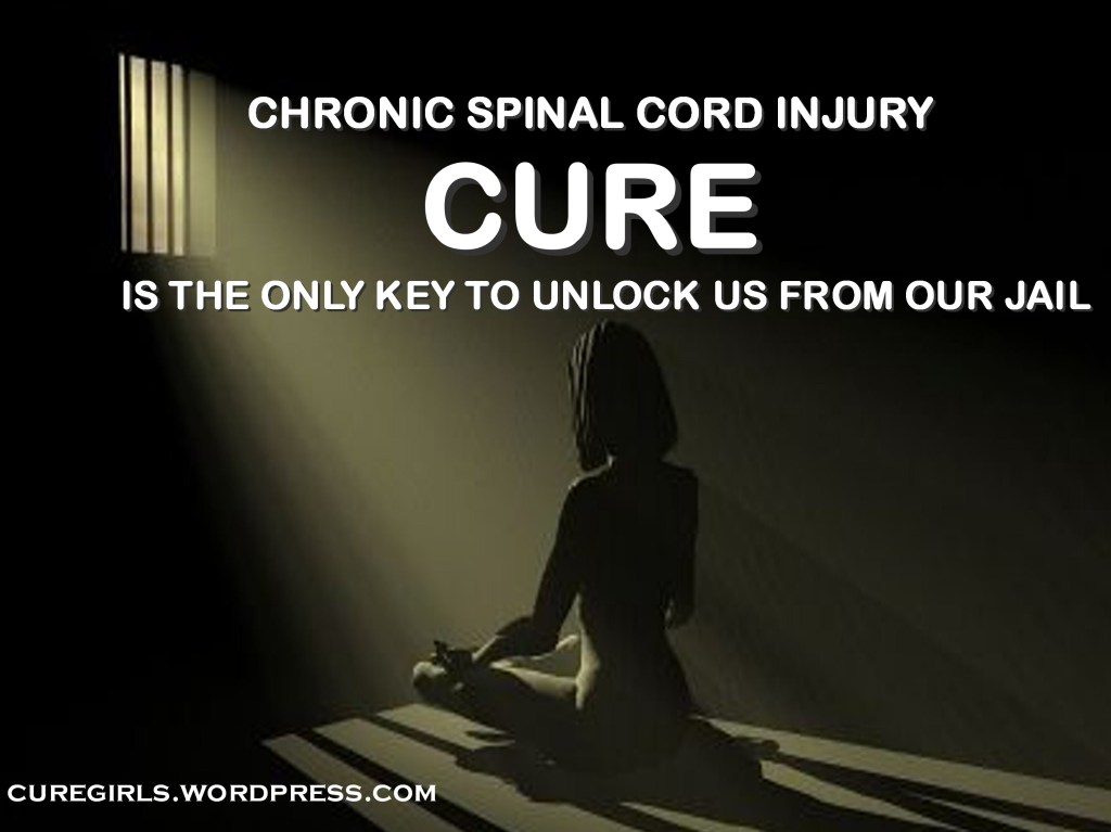 Chronic Spinal Cord Injury Is Our Jail