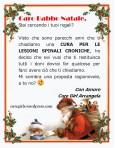 Letterina della Cure Girl Arcangela a Babbo Natale