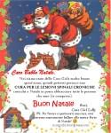 Letterina della Cure Girl Lolly a Babbo Natale