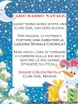 Lettera della Cure Girl Marina a Babbo Natale