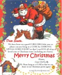 Letter to Santa from cure girl Lolly