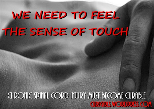 WE NEED TO FEEL  THE SENSE OF TOUCH