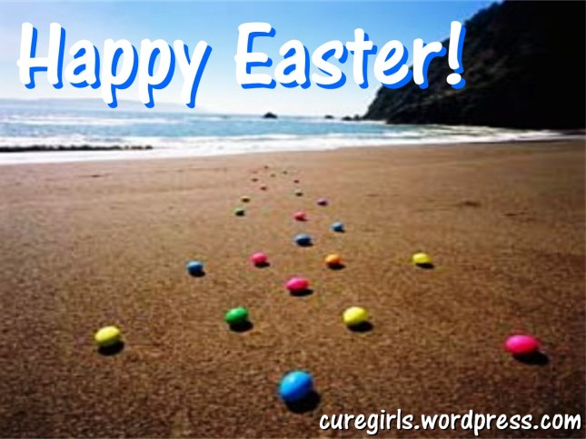 Happy Easter from Cure Girls! Buona Pasqua dalle Cure Girls!