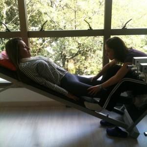 Sabrina's fisiotherapy