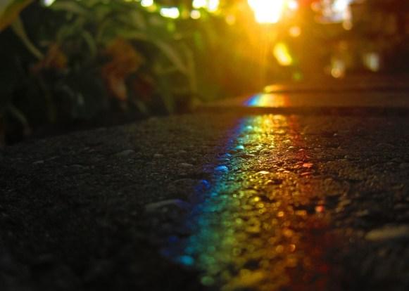 Arcobaleno di luci
