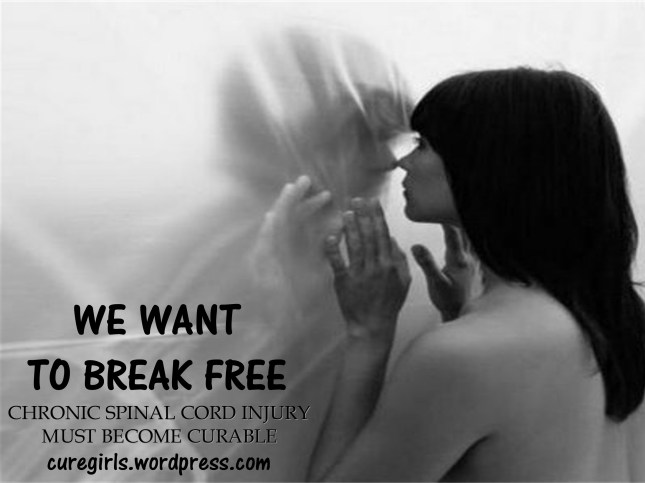 WE WANT TO BREAK FREE