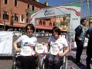 Loredana e Arcangela a Verona