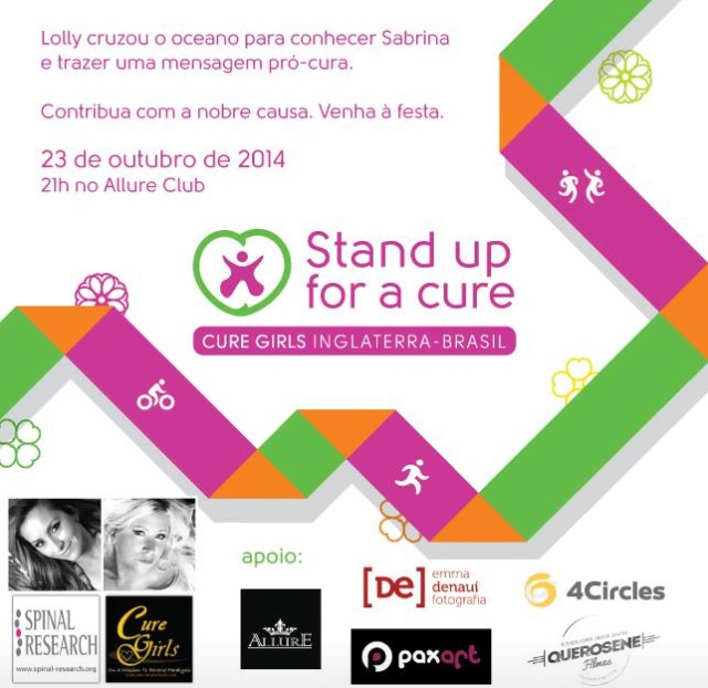 Stand up for a cure
