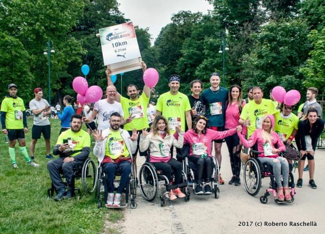 10k WFLWR 2017 Cure Girls in Milano