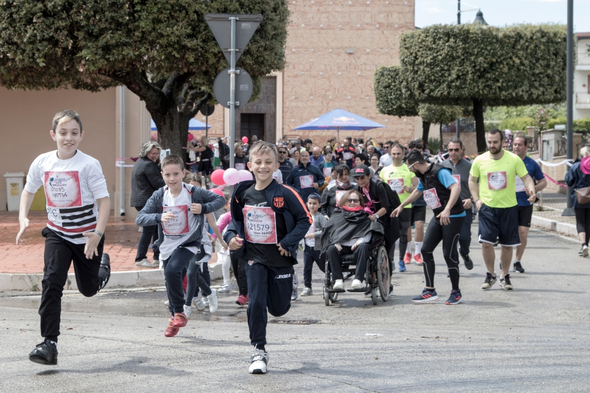 Wings for Life World Run 2019 a Giuliano Teatino